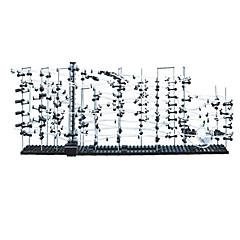 Spacerail Level 6 (231-6) 60000MM Sets zum Selbermachen Bildungsspielsachen Track-Schienen-Auto Streckensets Marmorschienen-Sets