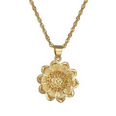 ieftine Coliere cu Pandativ-Pentru femei Mufe , Floarea Soarelui Articole de ceramică De Bază Modă Bijuterii Pentru Petrecere Bal