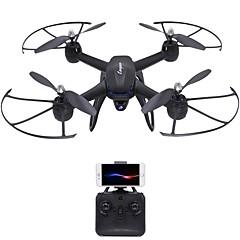 billige Fjernstyrte quadcoptere og multirotorer-RC Drone DMRC DM107S 4 Kanaler 6 Akse 2.4G Med HD-kamera 2.0MP Fjernstyrt quadkopter LED Lys / En Tast For Retur / Auto-Takeoff / Sveve