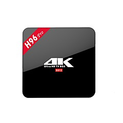 お買い得  TVボックス-H96 PRO TV Box Android 7.1 TV Box Amlogic S912 Octa Core 2GB RAM 16GB ROM Octa コア