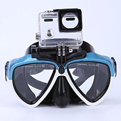 baratos -Kits para Snorkeling Máscaras de mergulho Pacotes de Mergulho Anti-Nevoeiro Crianças/Adolescente Jovem Mergulho / Náutica Esportes