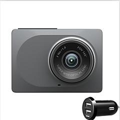 original xiaomi yi 1080p wifi dvr cn versão dual usb 2,7 polegadas tela yi a12 dual core adas 165 graus ângulo de visão