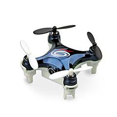 billige Fjernstyrte quadcoptere og multirotorer-RC Drone WLtoys RC101W 4 Kanaler 6 Akse 2.4G Med HD-kamera 0.3MP Fjernstyrt quadkopter LED Lys / En Tast For Retur / Feilsikker Fjernstyrt Quadkopter / Fjernkontroll / USB-kabel / Hodeløs Modus