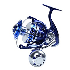 Fishing Reel Spinning Reels Trolling Reels 5.5:1 13 Ball Bearings Exchangable Sea Fishing Spinning Jigging Fishing Freshwater Fishing