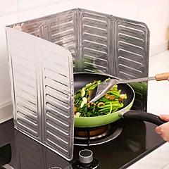 cozinha de folha de alumínio cozinha frigideira óleo splash anti splatter shield shield