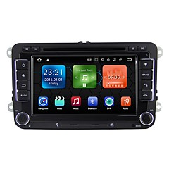 cheap Car DVD Players-Android 7.1.2 Car DVD Player Multimedia System 7 Inch Quad Core Wifi EX-3G DAB for VW Magotan Focus 2007-2011 Golf 5 Golf 6 Caddy Polo V 6R WE7048