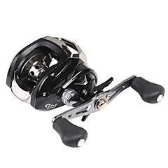 cheap Fishing Reels-Fishing Reel Baitcasting Reel 7.1:1 Gear Ratio+18 Ball Bearings Left-handed Right-handed Sea Fishing Bait Casting Ice Fishing Spinning