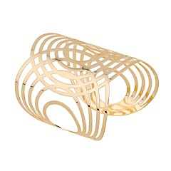 cheap -Women's Cuff Bracelet Classic Fashion Oversized Alloy Circle Jewelry For Daily