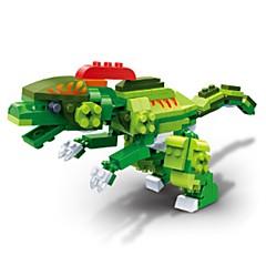 אבני בניין צעצועים דינוזאור היורה בעלי חיים עשה זאת בעצמך חינוך נערים 175 חתיכות