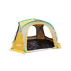 Sheng yuan 5-8 osob Stříška Jednoduchý Camping Tent jeden pokoj Rodinné stany Skládací pro Rybaření Outdoor a turistika Piknik 1500-2000