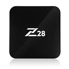 Z28 Android 7.1 TV-boks RK 3328 RAM ROM Kvadro-Kjerne