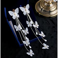 Pentru femei Cercei Picătură Dulce Elegant Șifon Catifelat Bijuterii Pentru Nuntă Petrecere