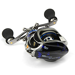 Fishing Reel Baitcast Reels 6.3:1 13 Ball Bearings Right-handed Left-handed Sea Fishing-SC120E-X