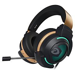 billiga Headsets och hörlurar-EH736 Headband Kabel Hörlurar Dynamisk Plast Spel Hörlur mikrofon / Med volymkontroll headset