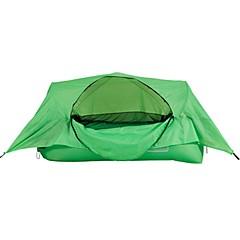billige Telt og ly-1 person Telt Enkelt camping Tent Ett Rom Brette Telt Vindtett Folding til Camping & Fjellvandring Picnic <1000mm rustfritt - 240 CM