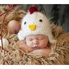 billige Sett med babyklær-Baby Pige Simple Ensfarvet Uden ærmer Bomuld Tøjsæt