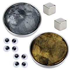 tanie Zabawki magnetyczne-2 pcs Zabawki magnetyczne Plastelina magnetyczna Klocki Kostka do układania Magnetyczne Zrób to Sam Typ magnetyczny Przeciwe stresowi i niepokojom Zabawki biurkowe Nowość Oczy Dla dzieci / Dla