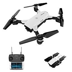 billige Fjernstyrte quadcoptere og multirotorer-RC Drone JJRC HYK19HW 4 Kanaler 6 Akse 2.4G Med HD-kamera 720P Fjernstyrt quadkopter Wide Angle Camera WIFI FPV FPV LED Lys Hodeløs Modus