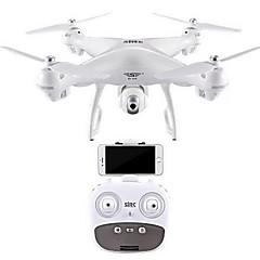billige Fjernstyrte quadcoptere og multirotorer-RC Drone SJ  R / C S70 4.0 6 Akse 2.4G Med HD-kamera 2.0MP 720P Fjernstyrt quadkopter En Tast For Retur / Auto-Takeoff / GPS Posisjonering