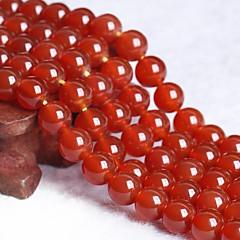 baratos Miçangas & Fabricação de Bijuterias-Jóias DIY 50 pçs Contas Cristal Vermelho Redonda Bead 0.8 cm faça você mesmo Colar Pulseiras