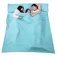 billiga Sovsäckar, madrasser och liggunderlag-Fengtu Sovande Bebis Liner Utomhus Dubbel 23°C Slumber Fuktighetsskyddad Vikbar Rektangulär Kompression Mateial som andas för Camping Resa