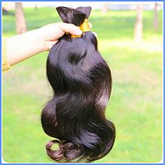 お買い得  人毛レミーみの毛エクステ-高品質 1年以上 0.4 日常 クラシック