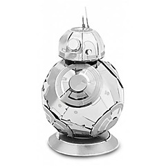 cheap -3D Puzzles Round Robot Parent-Child Interaction Hand-made Exquisite Stainless Steel Metal Classic Theme Contemporary Classic & Timeless