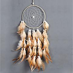 billige Veggdekor-Veggdekor Fjær / Pels Dyr Veggkunst, Drømmefanger av 1