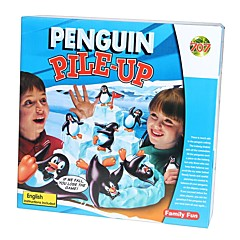 tanie gry planszowe-Gra planszowa Pingwin Zwierzę 1 pcs Dla dzieci Dla chłopców Dla dziewczynek Zabawki Prezent