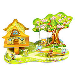 preiswerte -Modellbausätze Märchen Tier Eltern-Kind-Interaktion Handgefertigt Exquisit lieblich Weicher Kunststoff 1pcs Zeichentrick Kinder Erwachsene