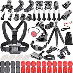 cheap Sports Action Cameras & Accessories  For Gopro-Chest Harness Handlebar Mount General Accessories Scratch Proof Damping Lockable handle Dynamics Adjustable Retractable For Action Camera