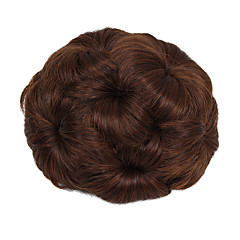 cheap Wigs & Hair Pieces-chignons Hair Bun Updo Drawstring Synthetic Hair Hair Piece Hair Extension Strawberry Blonde / Medium Auburn / Natural Black / Dark Brown / Medium Auburn