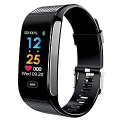 tanie Inteligentne zegarki-Inteligentny zegarek YY-CK18s na Android 4.4 / iOS Pomiar ciśnienia krwi / Spalonych kalorii / Krokomierze / Lokalizator / Kontrola APP Pulsometr / Krokomierz / Rejestrator aktywności fizycznej