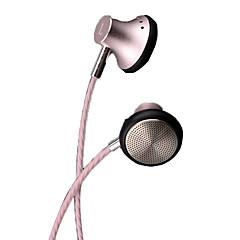 billiga Headsets och hörlurar-PHB P101 EARBUD Kabel Hörlurar Dynamisk Metall Pro Audio Hörlur Med volymkontroll / mikrofon headset