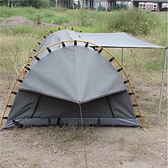 billige Telt og ly-Deerke 1 person Tunnelltelt Enkelt camping Tent Ett Rom Brette Telt Vindtett Regn-sikker varmelagrende til Camping & Fjellvandring