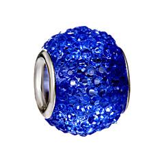 baratos Miçangas & Fabricação de Bijuterias-Jóias DIY 10 pçs Contas Liga Preto Roxo Fúcsia Verde Azul Redonda Bead 0.45 cm faça você mesmo Colar Pulseiras