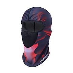 tanie Wyposażenie ochronne-herobiker motocykl maska maska oddychająca motocykl maska przeciwpyłowa czaszka moto kominiarka maska z kapturem chroniącym przed