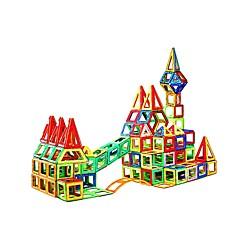 tanie Klocki magnetyczne-Blok magnetyczny Klocki 229pcs Zaokrąglanie Kwadrat Wojownik Samochód Transformable Zaprojektowany specjalne Interakcja rodziców i dzieci