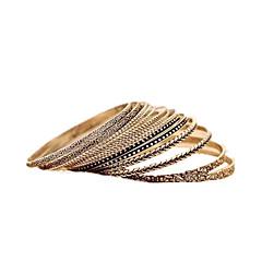 Damen Manschetten-Armbänder Modisch Aleación Geometrische Form Schmuck Alltag