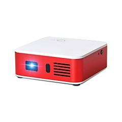 cheap -DLP Mini Projector LED Projector 100 lm Android 4.4 Support 1080P (1920x1080) 300 inch Screen / WXGA (1280x800)
