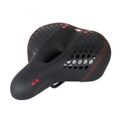 billiga Cykeldelar-Cykelsadel Anti - Slit, Vattentät, Stretch Cykling / Cykel Mikrofiber / PU läder / Stål Svart
