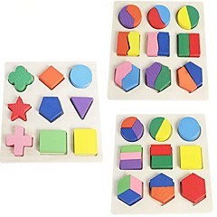 cheap -Wooden Puzzle Classic Theme Focus Toy Wooden Kid's Gift