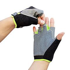 baratos Luvas de Motociclista-Meio dedo Unisexo Motos luvas Pano Demin Respirabilidade / Vestível / Anti-Derrapante