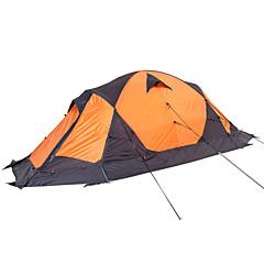 billige Telt og ly-MOBI GARDEN 2 personer Telt Dobbelt camping Tent Ett Rom Turtelt Hold Varm Vanntett Bærbar Ultra Lett (UL) Vindtett Ultraviolet
