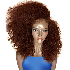 cheap Wigs & Hair Pieces-top sales 200 density black color wigs kinky curly synthetic lace front wig glueless heat resistant female curly hair