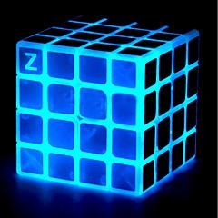 tanie Kostki Rubika-Kostka Rubika z-cube Luminous Glow Cube Kamienna kostka 4*4*4 Gładka Prędkość Cube Magiczne kostki Puzzle Cube Zabawki biurkowe Stres i