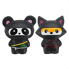 tanie Zabawki nowoczesne i żartobliwe-LT.Squishies / Squishy Zabawki do ściskania Gadżety antystresowe Hračka Zaokrąglanie Panda Lisek # Zwalnia ADD, ADHD, niepokój, autyzm