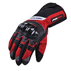 tanie Rękawiczki motocyklowe-rękawice ochronne z włókna węglowego na szosie mad-19madbike