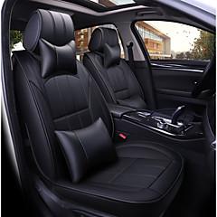 billige Setetrekk til bilen-Setetrekk til bilen Nakkestøtter og midjepute sett Setetrekk PU Leather Til Universell Alle år Alle Modeller