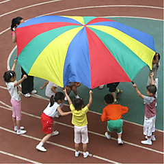 Χαμηλού Κόστους Σκηνές και τούνελ παιχνίδια-2M Child Kid Sports Development Outdoor Rainbow Umbrella Parachute Σκηνές και τούνελ παιχνίδια Αθλήματα Αλληλεπίδραση γονέα-παιδιού